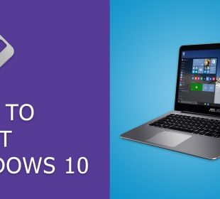 How to reset a PC in windows 10 and 8?